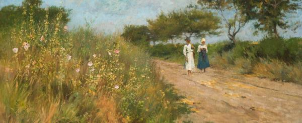 Deák Ébner Lajos- Vadmályvák útja, 1880 körül