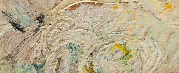 Menyhért Tóth  Still-Life with Flowers, 1956   32×23cm oil on paper Signed bottom left and right  TM 56