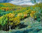Glatz Oszkár  Bujáki erdő, 1922  80×100 olaj, vászon Jel. j. l Glatz 1922