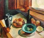 Kmetty János  Asztali csendélet 62×80cm olaj,vászon  Jel. j. l. Kmetty