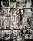 Ország Lili (1926-1978)  Római fal, 1960 évek  43.5x35cm o.k Jn.