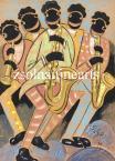 Scheiber Hugó  Jazz Band   35×25cm  tempera, papír   Jel.j.l. Scheiber H