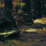 Mihály Munkácsy   Alley, 1873